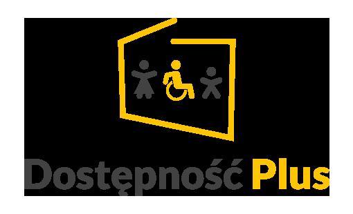 Logotyp kompleksowego programu Dostępność Plus
