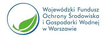 Logotyp Wojewódzkiego Funduszu Ochrony Środowiska iGospodarki Wodnej wWarszawie