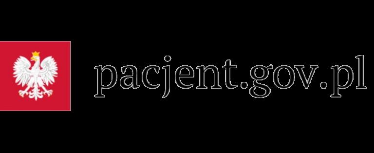 Logotyp serwisu internetowego pacjent.gov.pl