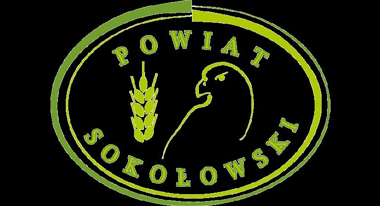 Logotyp naszego partnera Powiatu Sokołowskiego