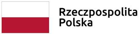 Biało-czerwona flaga Rzeczypospolitej Polskiej zpodpisem